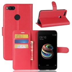 Xiaomi Mi 5X Red Wallet Case