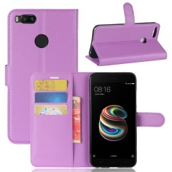 Xiaomi Mi 5X Purple Wallet Case
