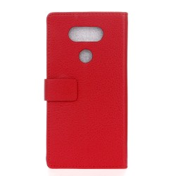 LG G6 Red Wallet Case