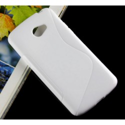 White Silicone Protective Case LG K5