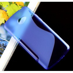 Blue Silicone Protective Case LG K5