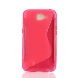 Pink Silicone Protective Case LG K5