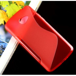 Red Silicone Protective Case LG K5