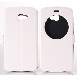 White S-view Flip Case For LG K5