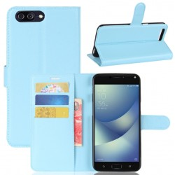 Asus Zenfone 4 Max Plus ZC554KL Blue Wallet Case