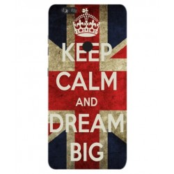 ZTE Blade Z Max Keep Calm And Dream Big Cover