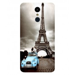 LG K7 (2017) Vintage Eiffel Tower Case
