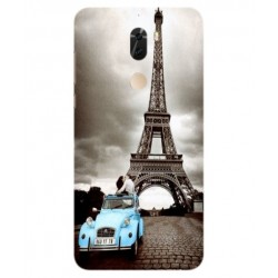 Coolpad Cool Play 6 Vintage Eiffel Tower Case