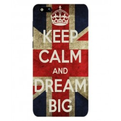 Keep Calm And Dream Big Hülle Für Coolpad Cool M7