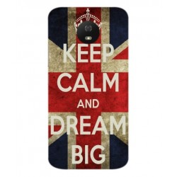 Coque Keep Calm And Dream Big Pour Motorola Moto G5S
