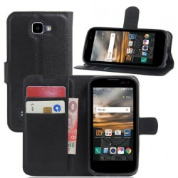LG K3 Black Wallet Case
