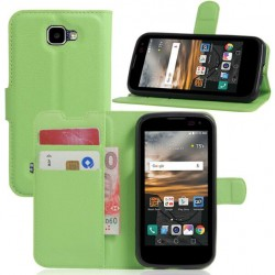 LG K3 Green Wallet Case