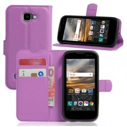 LG K3 Purple Wallet Case