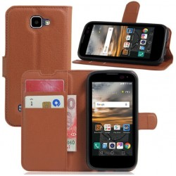 LG K3 Brown Wallet Case