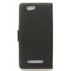 Wileyfox Spark Black Wallet Case