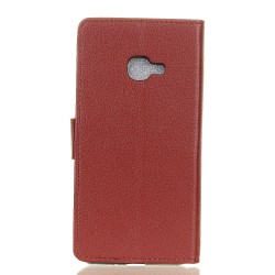 Samsung Galaxy Xcover 4 Brown Wallet Case