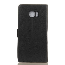 HTC U Ultra Black Wallet Case