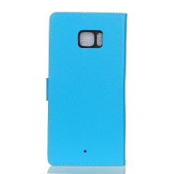 HTC U Ultra Blue Wallet Case