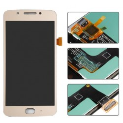 Motorola Moto G5 Complete Replacement Screen Gold Color