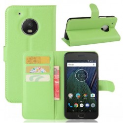 Motorola Moto G5 Plus Green Wallet Case