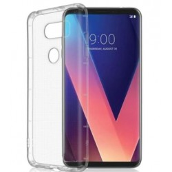 LG V30 Transparent Silicone Case