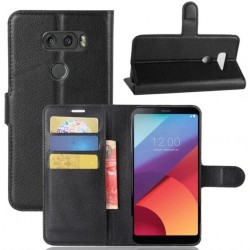 LG V30 Black Wallet Case