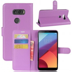 LG V30 Purple Wallet Case