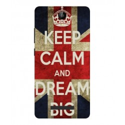 Keep Calm And Dream Big Hülle Für Archos 50 Platinum 4G