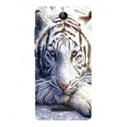 Archos 50 Platinum 4G White Tiger Cover