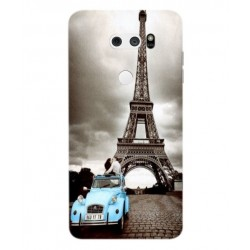 LG V30 Vintage Eiffel Tower Case