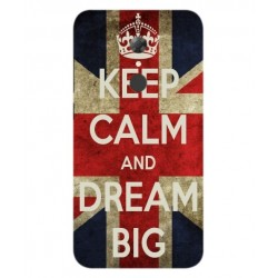 Carcasa Keep Calm And Dream Big Para Alcatel A7