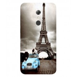 Alcatel A7 Vintage Eiffel Tower Case