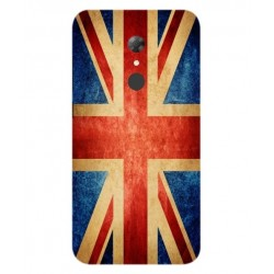 Funda Vintage UK Para Alcatel A7