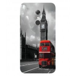 Alcatel A7 London Style Cover