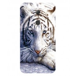 Alcatel A7 White Tiger Cover