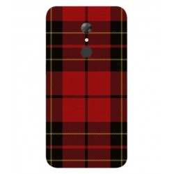 Alcatel A7 Swedish Embroidery Cover