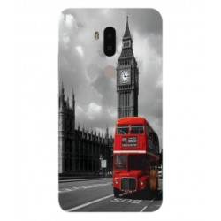 Alcatel A7 XL London Style Cover