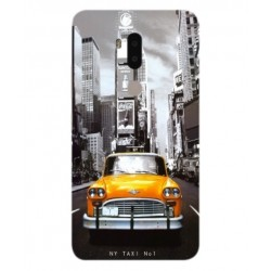 Coque New York Taxi Pour Alcatel A7 XL