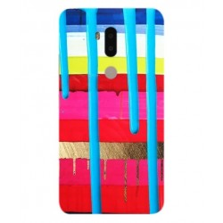 Alcatel A7 XL Brushstrokes Cover
