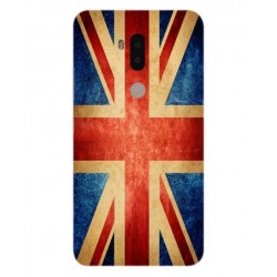 Funda Vintage UK Para Alcatel A7 XL