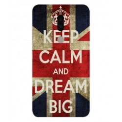 Keep Calm And Dream Big Hülle Für Alcatel A7 XL