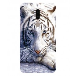 Funda Protectora 'White Tiger' Para Alcatel A7 XL