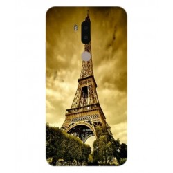 Coque Protection Tour Eiffel Pour Alcatel A7 XL