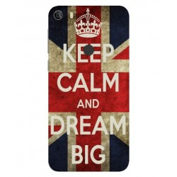 Keep Calm And Dream Big Hülle Für Alcatel Idol 5