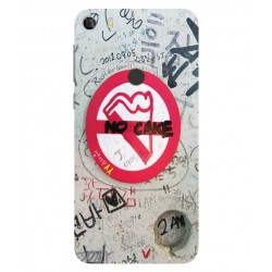Funda Protectora 'No Cake' Para Alcatel Idol 5