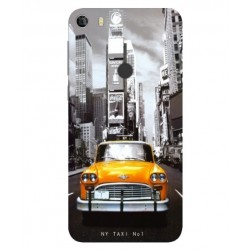 Coque New York Taxi Pour Alcatel Idol 5