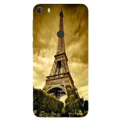 Coque Protection Tour Eiffel Pour Alcatel Idol 5