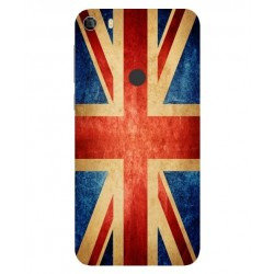 Coque Vintage UK Pour Alcatel Idol 5