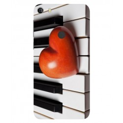 Funda I Love Piano Para Alcatel Idol 5