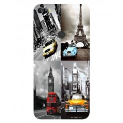 Funda Best Vintage Para Alcatel Idol 5